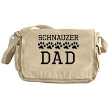 Schnauzer Dad Messenger Bag