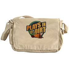 playsindirt.jpg Messenger Bag