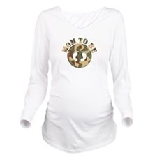 momtobe-camo.png Long Sleeve Maternity T-Shirt