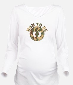 momtobe-camo.png Long Sleeve Maternity T-Shirt