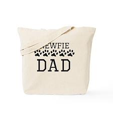 Newfie Dad Tote Bag