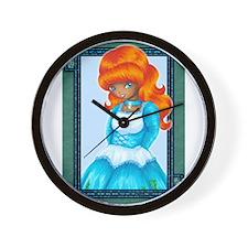 Princess Shadowhunter Wall Clock