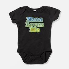 Nana Loves Me Baby Bodysuit