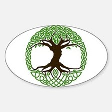 Unique Celtic tree of life Decal