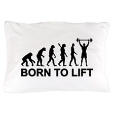 Evolution born to lift weightlifting Pillow Case
