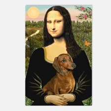 Mona's Dachshund Postcards (Package of 8)