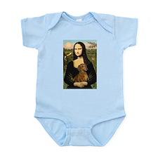 Mona's Dachshund Infant Bodysuit