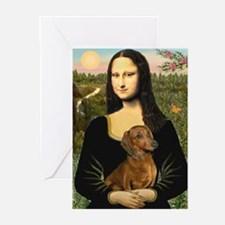 Mona's Dachshund Greeting Cards (Pk of 10)