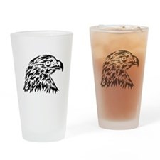 Eagle Tattoo Drinking Glass