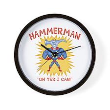 Hammerman! Wall Clock