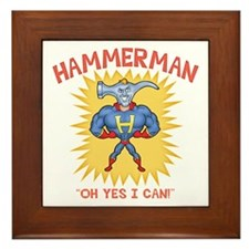 Hammerman! Framed Tile