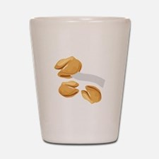 Fortune Cookies Shot Glass