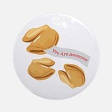 You Are Awesome Ornament (Round)