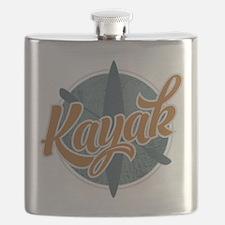 Kayak Emblem Flask