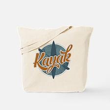 Kayak Emblem Tote Bag