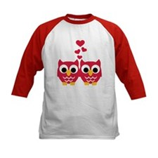 Red owls hearts Tee