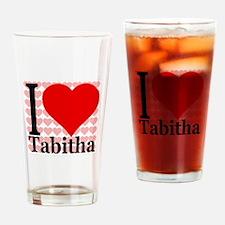 I (Heart) Tabitha Drinking Glass