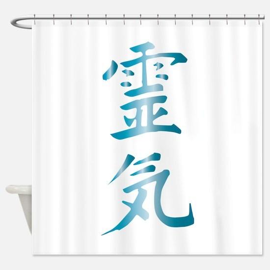 Reiki Shower Curtain