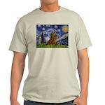 Starry / Dachshund Light T-Shirt