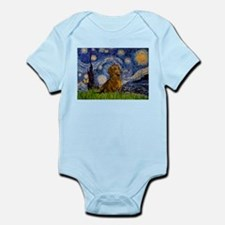 Starry / Dachshund Infant Bodysuit