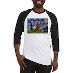 Starry / Dachshund Baseball Jersey