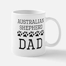Australian Shepherd Dad Mugs