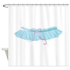 Bridal Garter Shower Curtain
