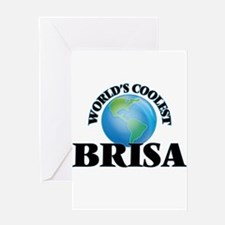 World's Coolest Brisa Greeting Cards