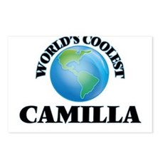 World's Coolest Camilla Postcards (Package of 8)