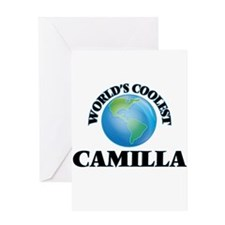 World's Coolest Camilla Greeting Cards