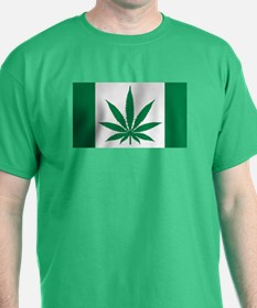 Marijuana flag T-Shirt