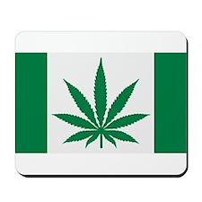 Marijuana flag Mousepad