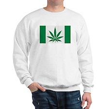 Marijuana flag Sweatshirt