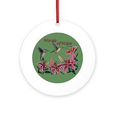 Wings of Hope - calliope hummer