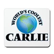 World's Coolest Carlie Mousepad