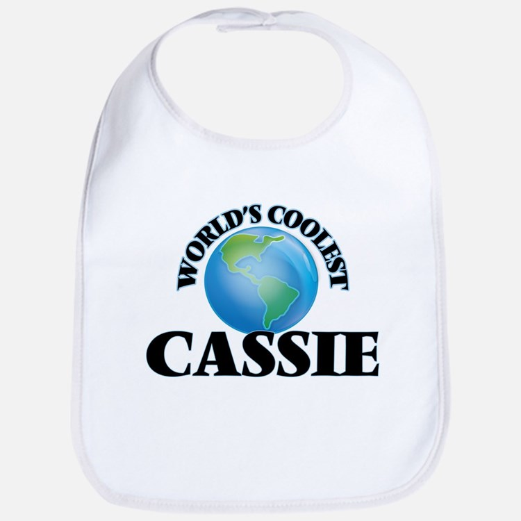 World's Coolest Cassie Bib