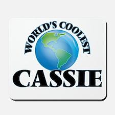 World's Coolest Cassie Mousepad