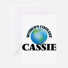 World's Coolest Cassie Greeting Cards