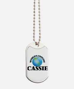 World's Coolest Cassie Dog Tags