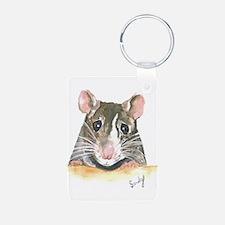 Rat face Keychains