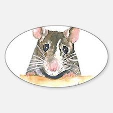 Rat face Decal