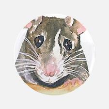 """Rat face 3.5"""" Button (100 pack)"""