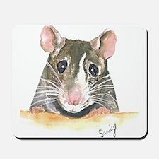 Rat face Mousepad