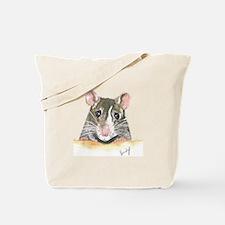 Rat face Tote Bag