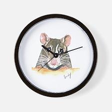 Rat face Wall Clock
