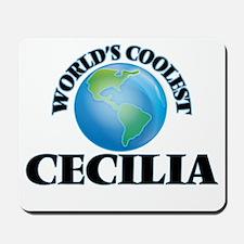 World's Coolest Cecilia Mousepad