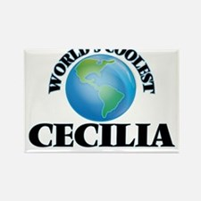World's Coolest Cecilia Magnets