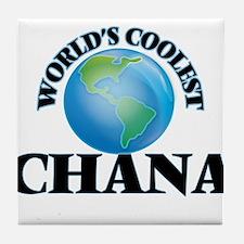 World's Coolest Chana Tile Coaster