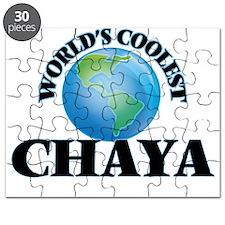 World's Coolest Chaya Puzzle