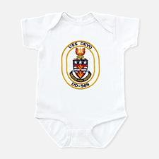 USS DEYO Infant Bodysuit